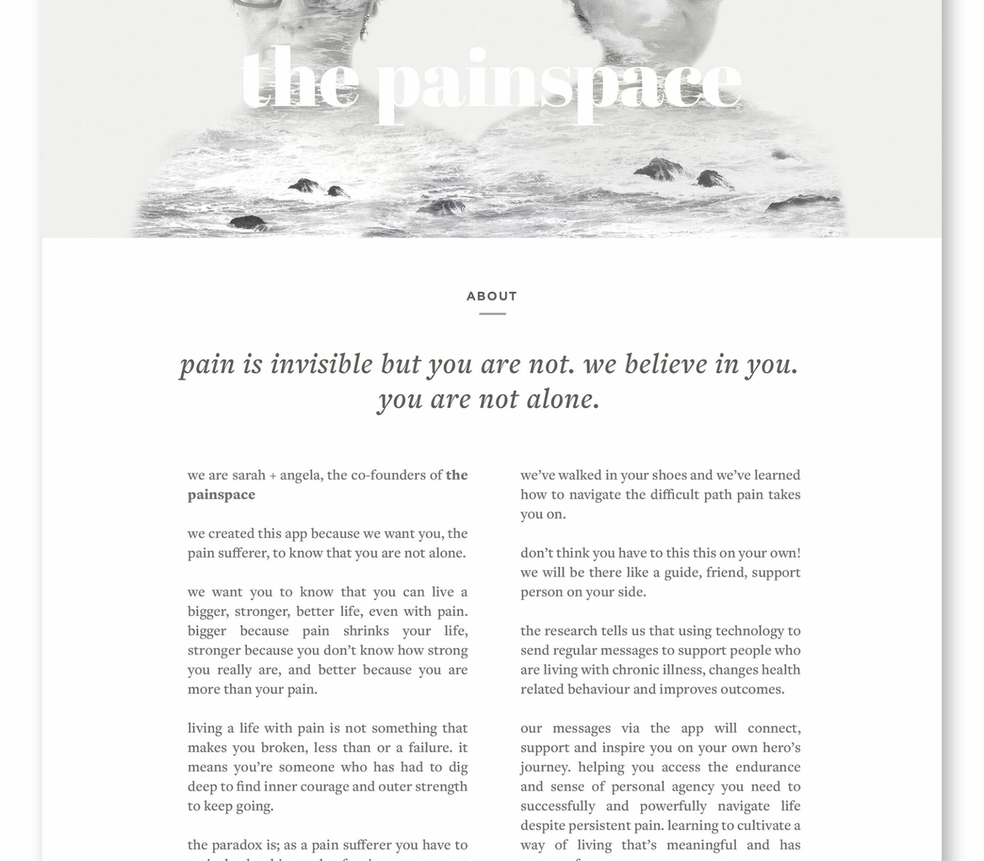 The-Painspace-Homepage